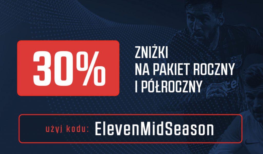 Najnowszy kod promocyjny Eleven Sports. Co wpisać?