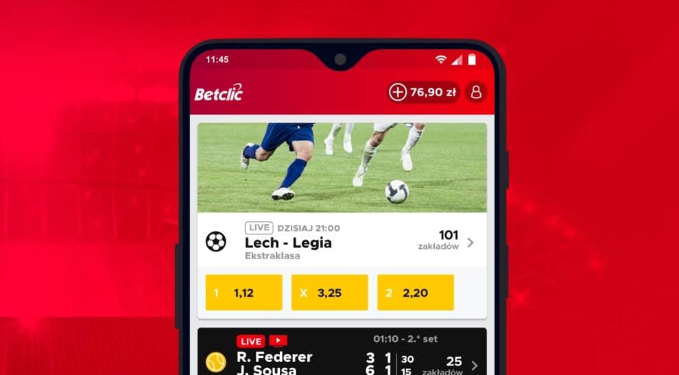 BetClic Polska. Bonus powitalny za rejestrację
