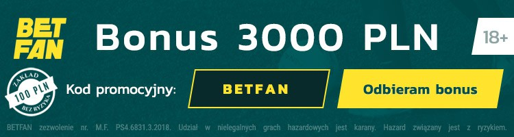 Betfan kod promocyjny na bonus za darmo