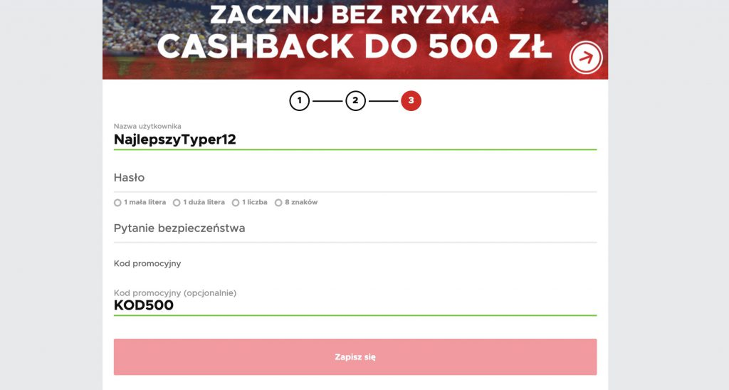500 PLN od BetClic dla każdego!