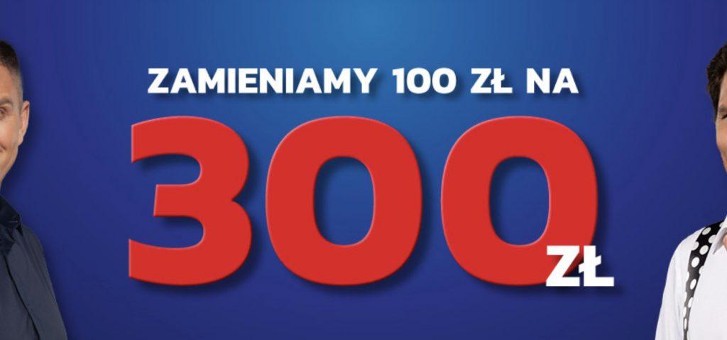 Nowy bonus powitalny Etoto. 100 zł zamienia się w 300!