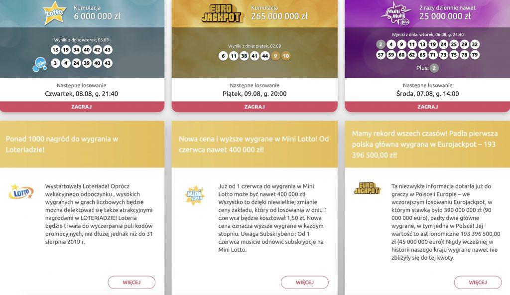 Lotto przez internet. Czy da się grać?