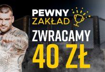 Fame MMA 7 z bonusem 40 PLN od bukmachera Betclic